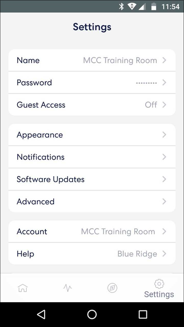 Resetting Your Wifi Password Blue Ridge
