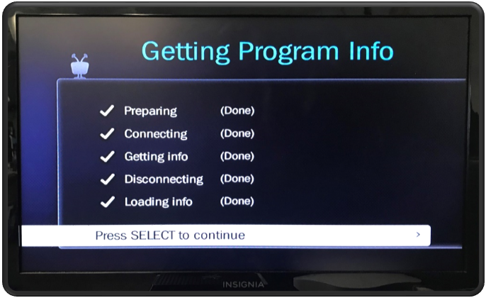 Getting Program Info